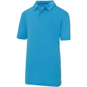 Vêtements Enfant Polos manches courtes Just Cool Plain Saphir