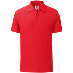 Vêtements Homme Polos manches courtes Fruit Of The Loom 63042 Rouge