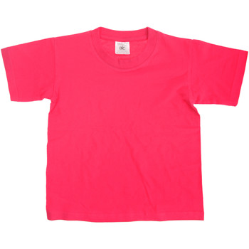 Vêtements Enfant T-shirts manches courtes B And C Exact Fuchsia
