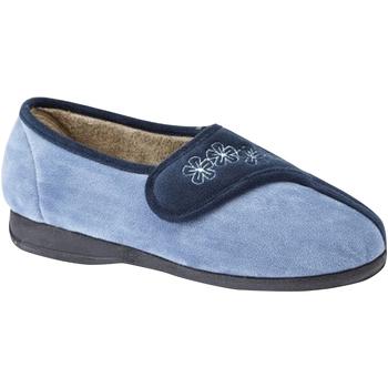 Chaussures Femme Chaussons Sleepers  Bleu marine/Bleu