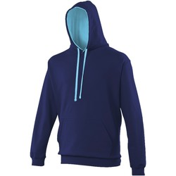Vêtements Sweats Awdis Hooded Bleu marine / bleu ciel
