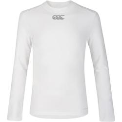Vêtements Enfant T-shirts manches longues Canterbury CN360B Blanc