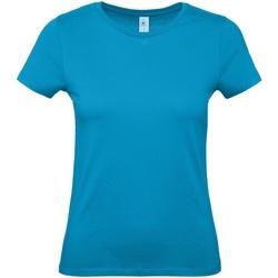 Vêtements Femme T-shirts manches courtes B And C E150 Bleu vif