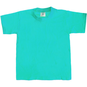 Vêtements Enfant T-shirts manches courtes B And C TK301 Bleu piscine