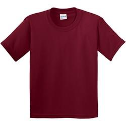 Vêtements Enfant T-shirts manches courtes Gildan 5000B Rouge Cardinal