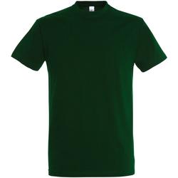 Vêtements Homme T-shirts manches courtes Sols 11500 Vert bouteille