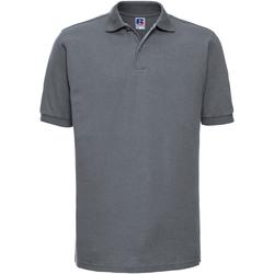 Vêtements Homme Polos manches courtes Russell Polo à manches courtes BC572 Gris