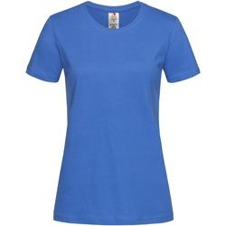 Vêtements Femme T-shirts manches courtes Stedman Organic Bleu Royal