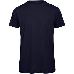 Vêtements Homme T-shirts manches courtes B And C Organic Bleu marine
