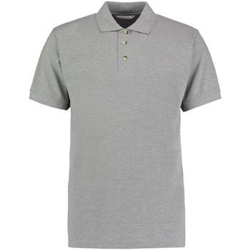 Vêtements Homme Polos manches courtes Kustom Kit Work Gris