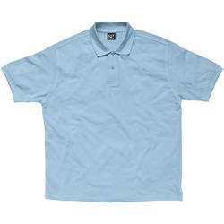 Vêtements Femme Polos manches courtes Sg SG59F Bleu ciel