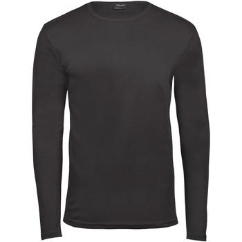Vêtements Homme T-shirts manches longues Tee Jays TJ530 Gris foncé