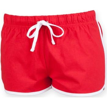 Vêtements Enfant Shorts / Bermudas Skinni Fit Retro Rouge