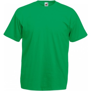 Vêtements Homme T-shirts manches courtes Fruit Of The Loom Valueweight Emeraude