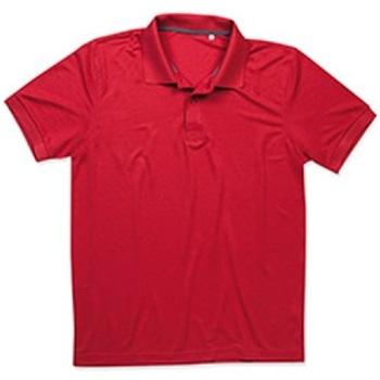 Vêtements Homme Polos manches courtes Stedman Pique Rouge