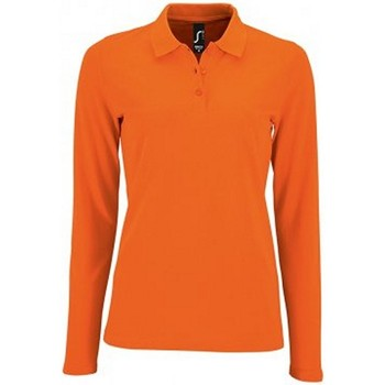 Vêtements Femme Polos manches longues Sols Pique Orange