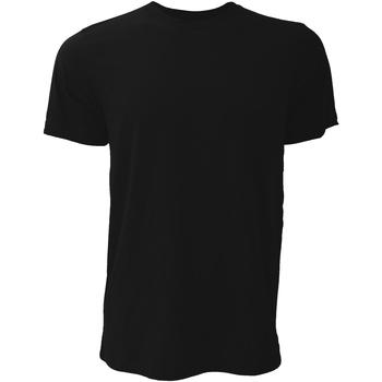 Vêtements Homme T-shirts manches courtes Bella + Canvas Jersey Noir