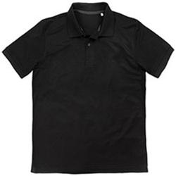 Vêtements Homme Polos manches courtes Stedman Pique Noir