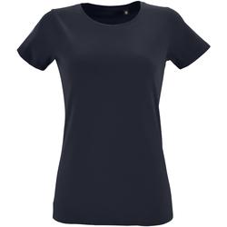 Vêtements Femme T-shirts manches courtes Sols Regent Bleu marine