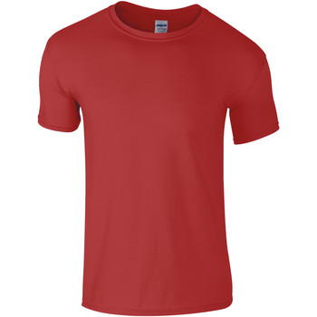 Vêtements Homme T-shirts manches courtes Gildan Soft-Style Rouge chiné
