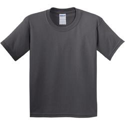 Vêtements Enfant T-shirts manches courtes Gildan 5000B Gris foncé