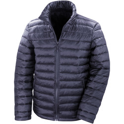 Vêtements Homme Doudounes Result Windproof Bleu marine