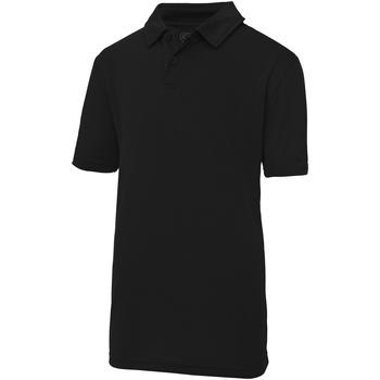 Vêtements Enfant Polos manches courtes Just Cool Plain Noir