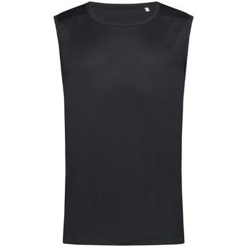 Vêtements Homme Débardeurs / T-shirts sans manche Stedman Active Noir