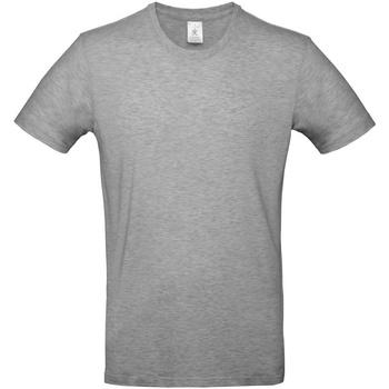 Vêtements Homme T-shirts manches courtes B And C E190 Gris chiné