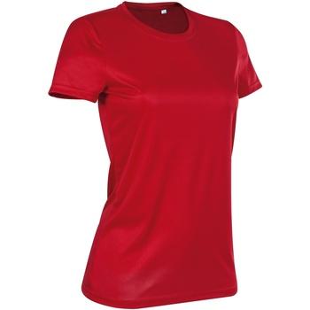 Vêtements Femme T-shirts manches courtes Stedman Active Rouge