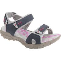 Chaussures Femme Sandales sport Pdq Toggle & Touch Bleu marine/Gris