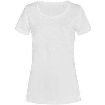 Vêtements Femme T-shirts manches courtes Stedman Stars Sharon Blanc