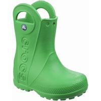 Chaussures Enfant Bottes de pluie Crocs  Vert