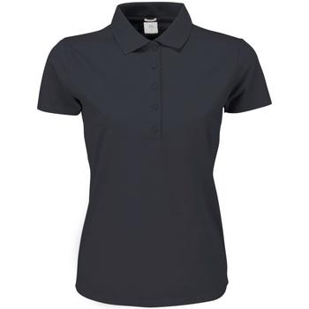 Vêtements Femme Polos manches courtes Tee Jays Stretch Gris sombre