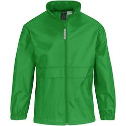 Vêtements Enfant Coupes vent B And C Sirocco Vert