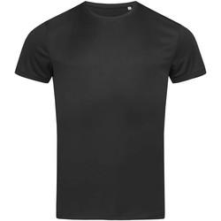 Vêtements Homme T-shirts manches courtes Stedman Active Noir