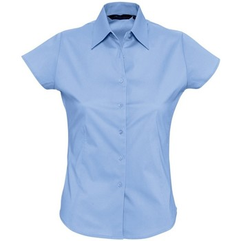 Vêtements Femme Chemises / Chemisiers Sols Excess Bleu ciel