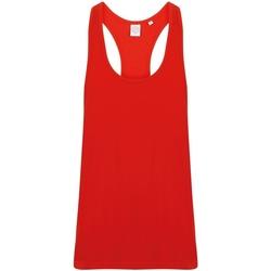 Vêtements Homme Débardeurs / T-shirts sans manche Skinni Fit SF236 Rouge vif