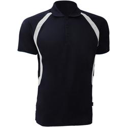 Vêtements Homme Polos manches courtes Gamegear Riviera Bleu marine/Blanc