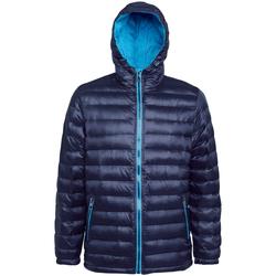 Vêtements Homme Doudounes 2786 TS016 Bleu marine/ Saphir