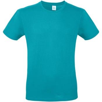 Vêtements Homme T-shirts manches courtes B And C TU01T Turquoise