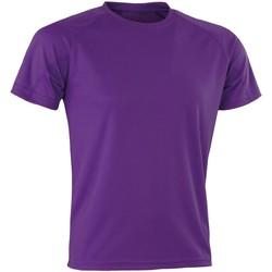 Vêtements Homme T-shirts manches courtes Spiro Aircool Violet