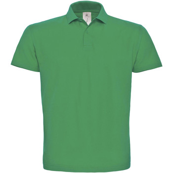 Vêtements Homme Polos manches courtes B And C ID.001 Vert tendre