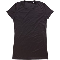 Vêtements Femme T-shirts manches courtes Stedman Active Active Noir