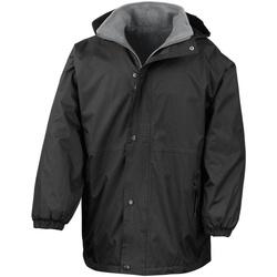 Vêtements Homme Parkas Result R160X Noir/Gris