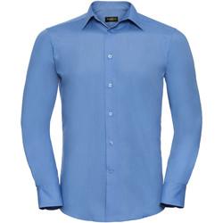 Vêtements Homme Chemises manches longues Russell 924M Bleu clair
