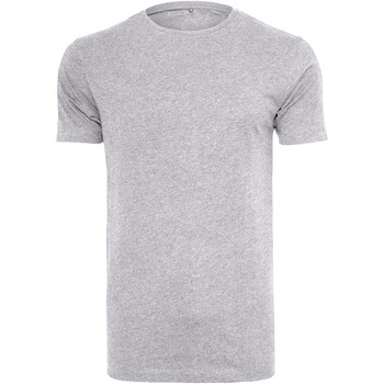 Vêtements Homme T-shirts manches courtes Build Your Brand BY005 Gris