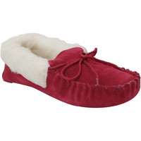 Chaussures Femme Chaussons Eastern Counties Leather Moccasin Pourpre
