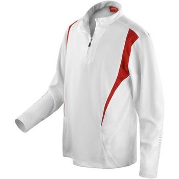 Vêtements Femme Vestes de survêtement Spiro Performance Blanc/Rouge/Blanc