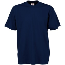 Vêtements Homme T-shirts manches courtes Tee Jays TJ8000 Bleu marine